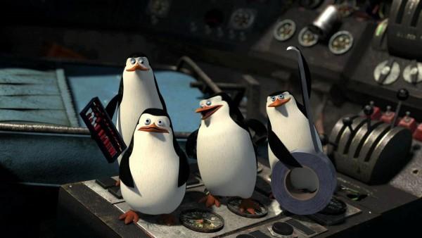 Пингвины из Мадагаскар 2