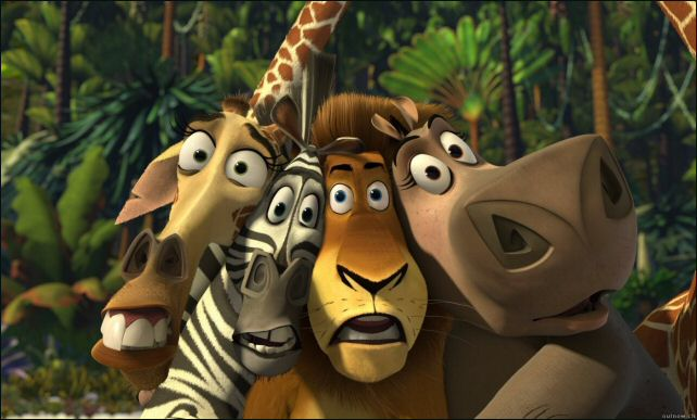Главные герои Мадагаскар 2