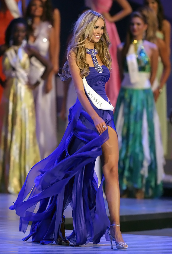 Ксения Сухинова Мисс Мира 2008
