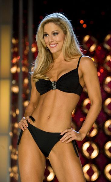 Девушка из финала конкурса Мисс Америка 2011