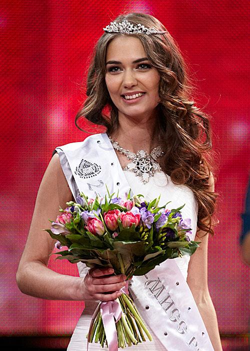 Второй вице-мисс стала Яна Дубник из Новосибирска