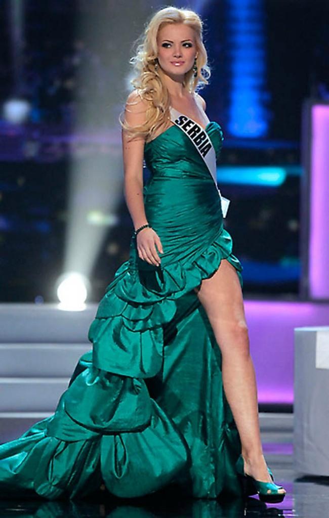 Аня Саранович - Мисс Сербия