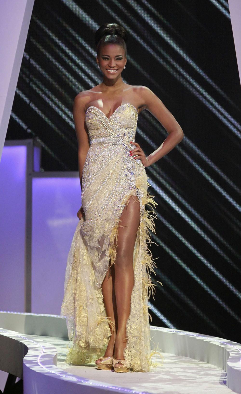 Победительница Мисс Вселенная - Лейла Лопеc из Анголы