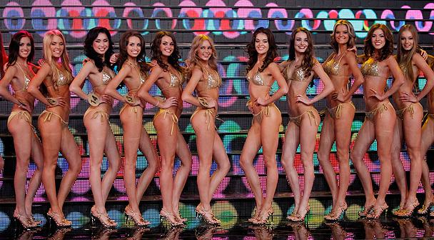 Финалистки Мисс Россия 2012