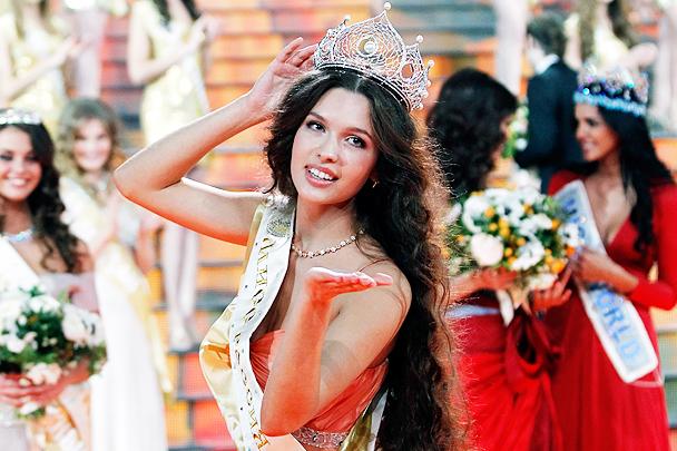 Победительница Мисс России 2012 - Елизавета Голованова