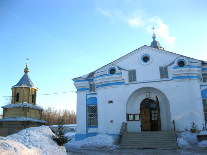 Спасская церковь, пос.Кумёны