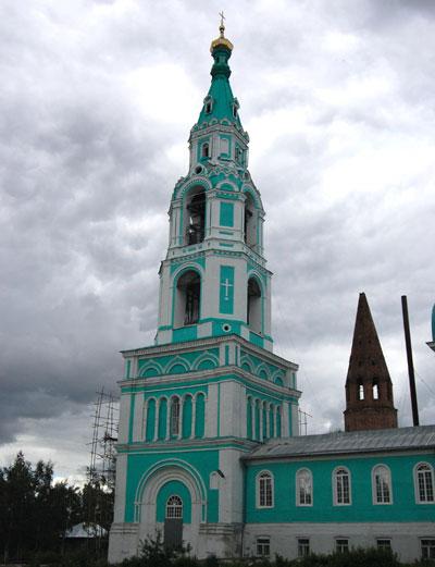 Колокольня Троицкого собора, г.Яранск