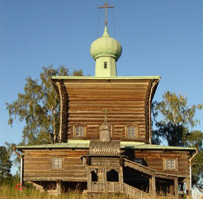 Деревянная церковь Николая Мирликийского, Опаринский район
