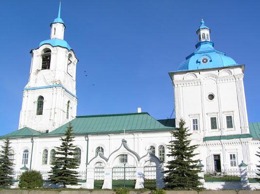 Троицкая церковь, с.Быстрица, Оричевский район