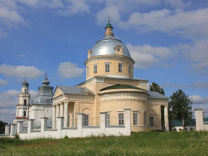 Храмовый комплекс, село Великорецкое