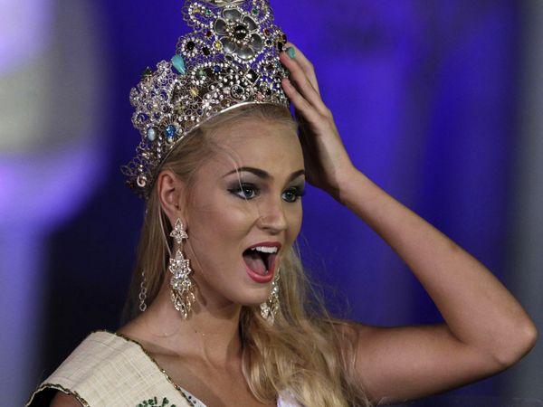 Тереза Файксова Победительница Мисс Планета 2012