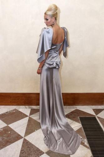 Тереза Файксова в вечернем платье