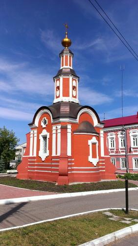 Киров, Безымянная часовня на МОПРа