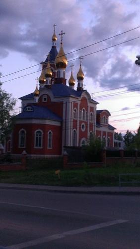 Киров, церковь иконы Божией Матери «Всех скорбящих Радость»