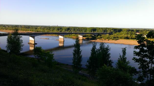 Киров, мост через Вятку