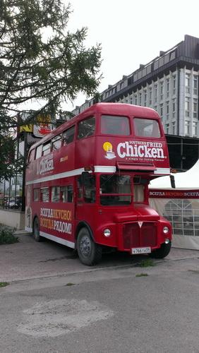 Двухэтажный автобус в Перми