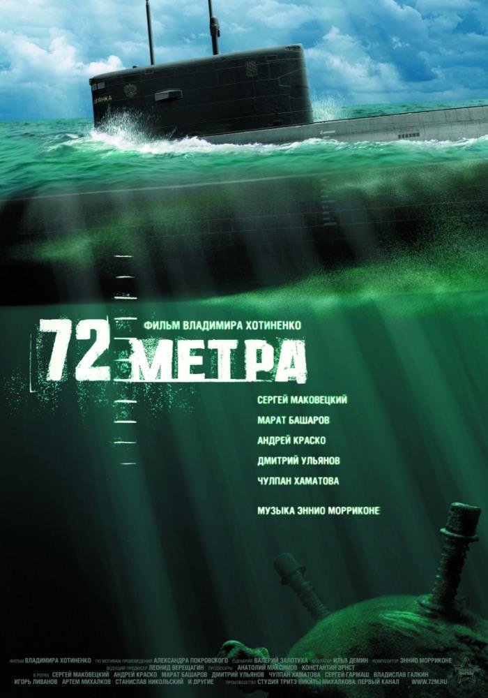 """Обложка фильма """"72 метра"""", 2004г."""