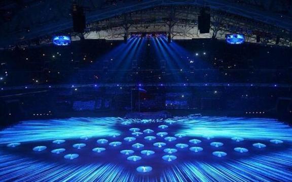 Голубь мира на Олимпийских играх в Сочи