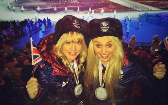 Девушки из сборной Великобритании