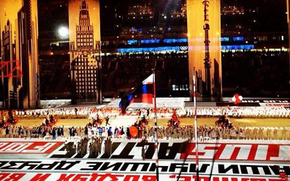Смена эпох в церемонии Открытия Олимпийских игр в Сочи
