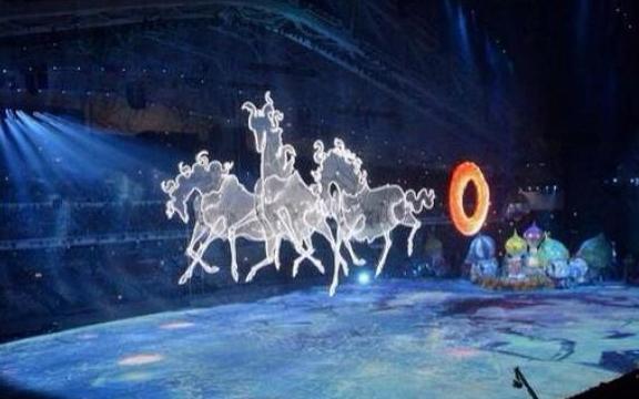 Олимпийская тройка лошадей в Сочи 2014