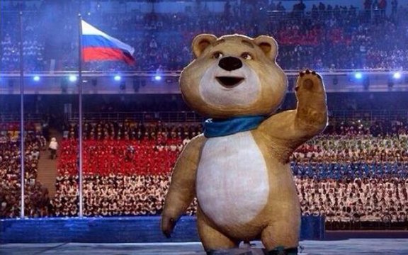 Один из талисманов Сочинских игр 2014