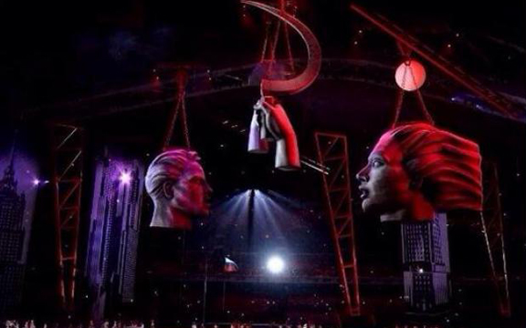 Коммунизм на церемонии открытия Олимпийских игр в Сочи 2014