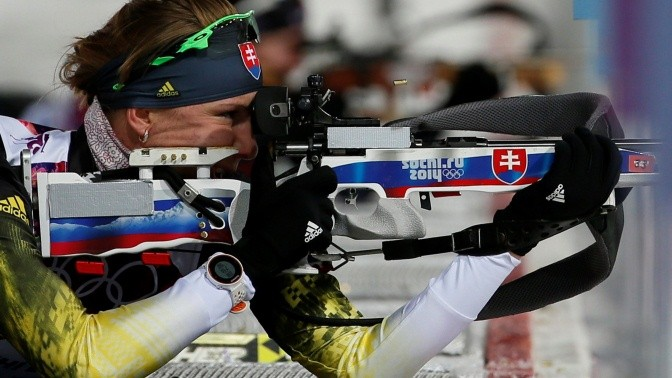 Анастасия Кузьмина на Олимпийских играх в Сочи 2014