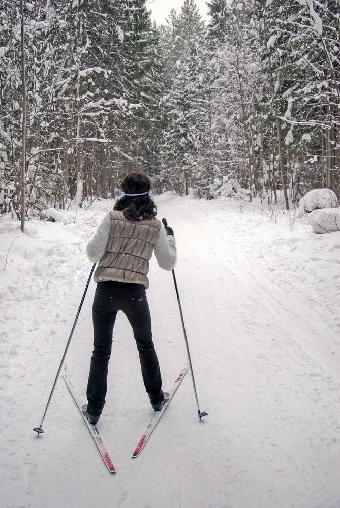 Следуй за мной в Киров кататься на лыжах