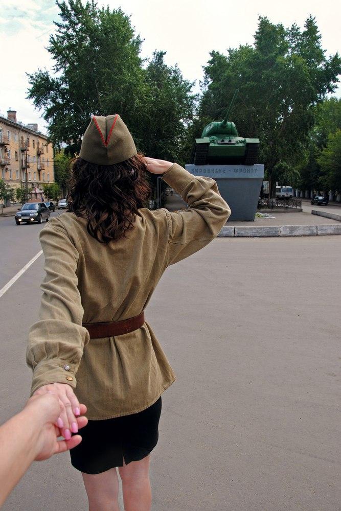 Следуй за мной в Киров к танку Т-34-85