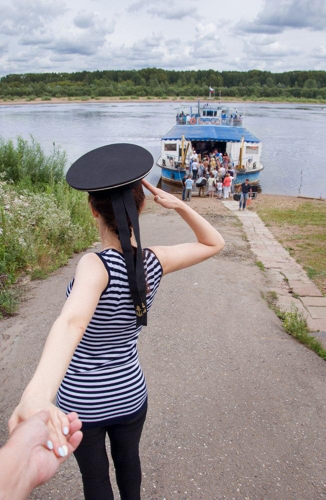 """Следуй за мной в Киров на теплоход """"Кировчанка"""""""