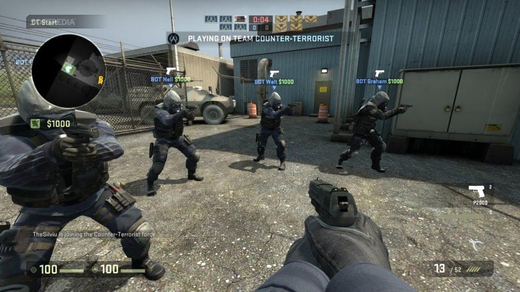 Самый популярный коллективный шутер Counter-Strike: Global Offensive
