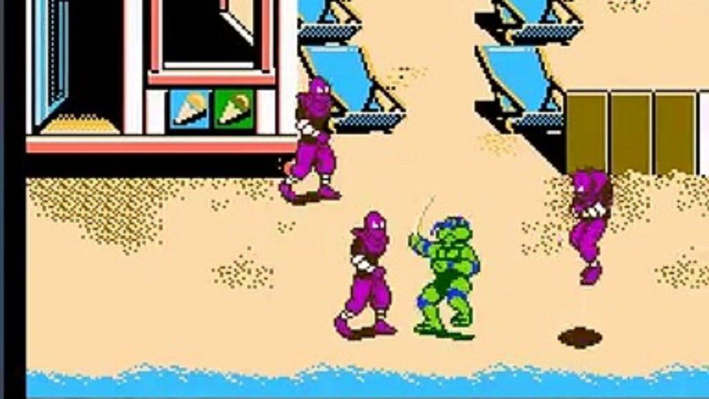 Легендарный Beat 'em up - Turtles